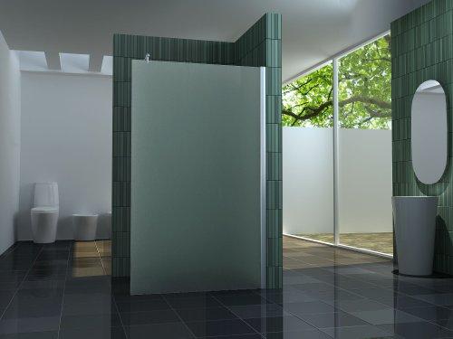 10 mm Duschtrennwand FREE-F 100 x 200 cm