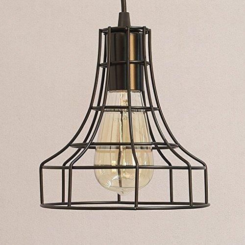 1X E27 Lampenfassung Retro Antike Edison Hängelampe Pendelleuchte Esstisch Pendellampe 1M Kabel