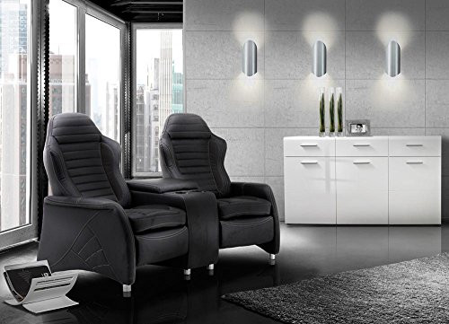 2 sitzer kinosessel cinema relax sofa heimkino sessel tv sofa relaxcouch home cinema. Black Bedroom Furniture Sets. Home Design Ideas