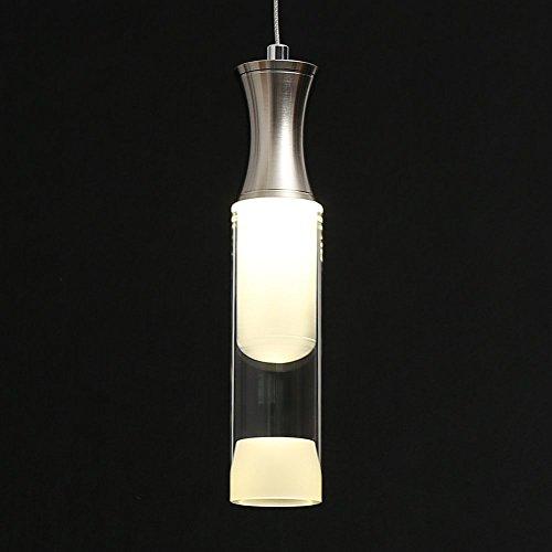 3W Acryl LED Hängeleuchte Pendelleuchte Küchen Pendelleuchte Wohnzimmer Deckenlampe für Esszimmer, Küche, Bar, Schlafzimmer Beleuchtung