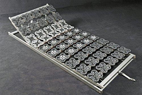 7 zonen teller lattenrost tellerfeder lattenrahmen delta flex 80 90 x 100 x 190 200 cm. Black Bedroom Furniture Sets. Home Design Ideas