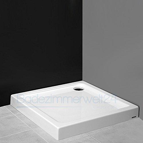 AQUABAD® Duschwanne/Duschtasse/Duschbecken Rechteck/Quadrat 90x90x14cm
