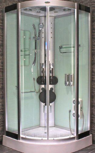 AcquaVapore DTP8046-0002 Dusche Dampfdusche Duschtempel Duschkabine 80x80