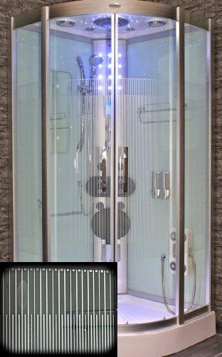 AcquaVapore DTP8046-0012 Dusche Dampfdusche Duschtempel Duschkabine 80x80