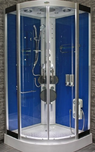AcquaVapore DTP8046-0202 Dusche Dampfdusche Duschtempel Duschkabine 80x80