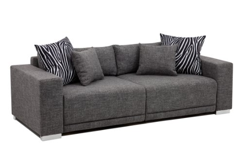 b famous big sofa london xlstruktur grau 237x103 cm m bel24. Black Bedroom Furniture Sets. Home Design Ideas