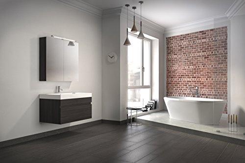 bad11 badm belset pandora 2 teilig 80 cm badezimmer m bel farbe tr ffeleiche holzoptik bad. Black Bedroom Furniture Sets. Home Design Ideas