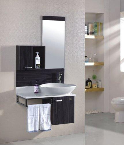 badezimmer komplettset schrank bad waschtisch m bel set spiegel graphit i m bel24. Black Bedroom Furniture Sets. Home Design Ideas