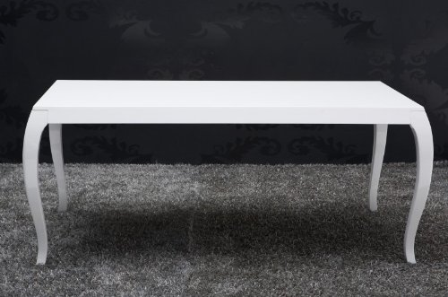 barock esstisch hochglanz wei 200cm esszimmer tisch 10558 barock m bel modern m bel24. Black Bedroom Furniture Sets. Home Design Ideas