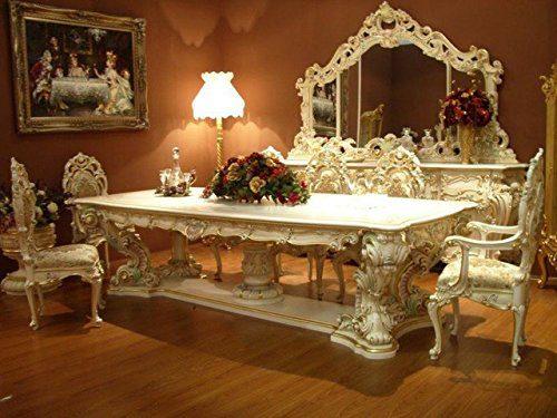 Barock Esstisch Tisch Tafel Barock Rokoko Vp9975-6,0