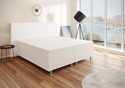 best for you boxspringbett rio barcelona 5 zonen mit qualit t viscose topper h3 first class bett. Black Bedroom Furniture Sets. Home Design Ideas