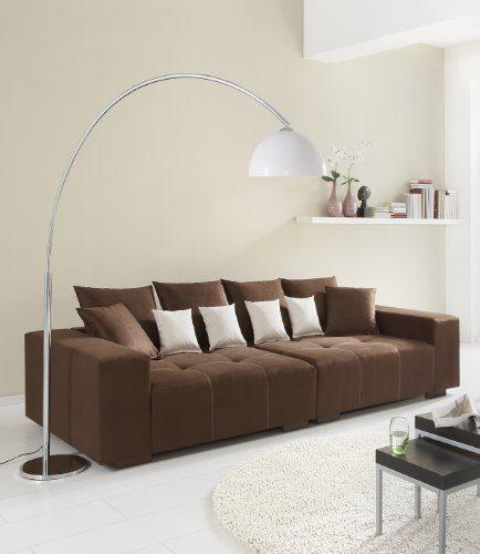 Big Sofa 260 - Made in Germany - Bezug Alcatex Noble Lux - Freie Farbwahl ohne Aufpreis aus ca. 70 Farben - Nahezu jedes Sondermaß möglich! Sprechen Sie uns an. Info unter 05226-9845045 oder info@highlight-polstermoebel.de