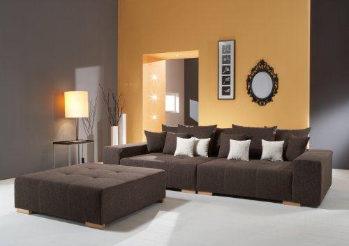 Big Sofa - Made in Germany - Bezug Webstoff Tennessee 210 - Preisgleich stehen Ihnen noch andere Webstoffe und Farben zur Auswahl - Nahezu jedes Sondermaß möglich! Info unter 05226-9845045 oder info@highlight-polstermoebel.de