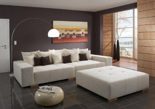 Big Sofa Webstoff - Made in Germany - Freie Farbwahl ohne Aufpreis aus unseren Webstoffen unter http://www.highlight-polstermoebel.de/webstoffe.html - Nahezu jedes Sondermaß möglich! Info unter 05226-9845045oder info@highlight-polstermoebel.de