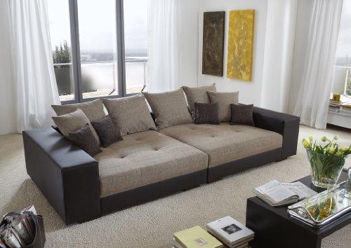 Big Sofa exclusiv - Made in Germany - Freie Farbwahl aus unserem Kunstleder Sortiment. Die stylische Doppelziernaht steht in über 100 Farben zur Verfügung. Nahezu jedes Sondermaß möglich! Sprechen Sie uns an. Info unter 05226-9845045 oder info@highlight-polstermoebel.de