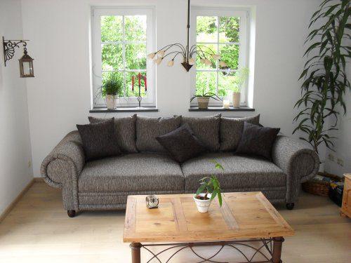 Big Sofa im Kolonialstil - Made in Germany - Freie Stoff und Farbwahl ohne Aufpreis aus unserem Sortiment (ausser Echtleder). Nahezu jedes Sondermaß möglich! Sprechen Sie uns an. Info unter 05226-9845045 oder info@highlight-polstermoebel.de