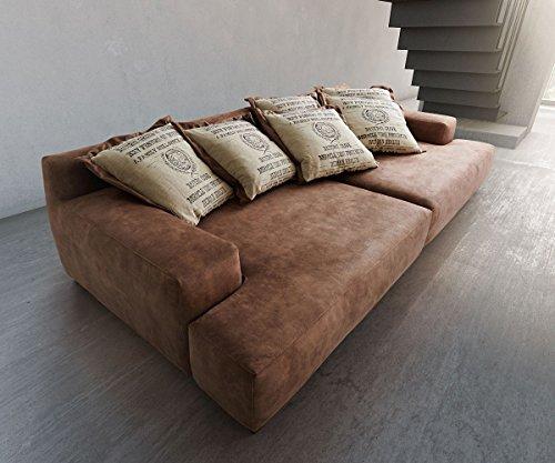 bigsofa cabana braun 304x140 vintage look by ultsch polsterm bel big sofa m bel24. Black Bedroom Furniture Sets. Home Design Ideas