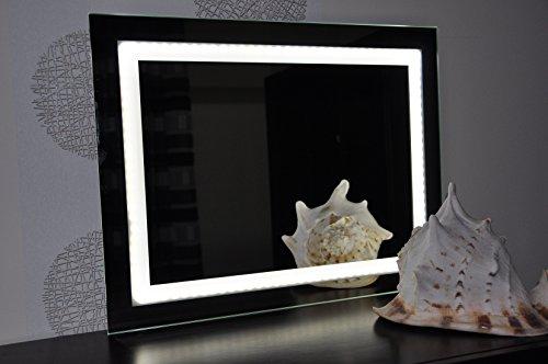 bilderdepot24 beleuchteter led wandspiegel badspiegel spiegel 80 60 cm m bel24. Black Bedroom Furniture Sets. Home Design Ideas