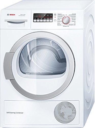 Bosch WTW86271 Wärmepumpentrockner / A++ / 8 kg / Selbstreinigender Kondensator / weiß