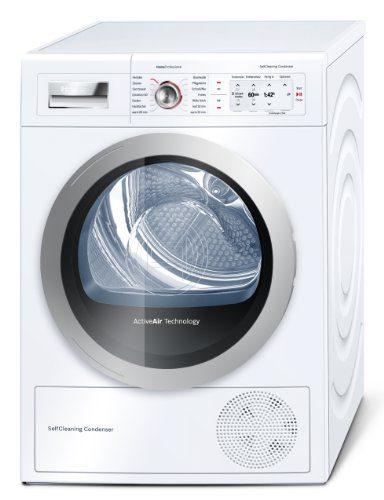 Bosch WTY87701 Wärmepumpentrockner / A++ / 8 kg / Weiß / Selbstreinigender Kondensator / Anti Vibration