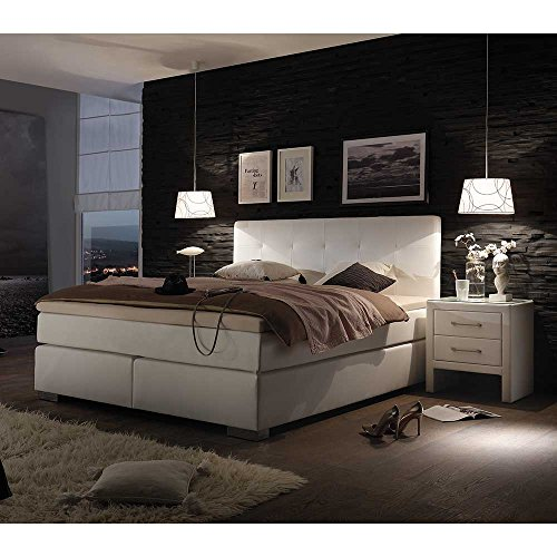 boxspringbett xxl lutz boxspringbett in textil anthrazit betten schlafen linea natura. Black Bedroom Furniture Sets. Home Design Ideas