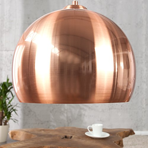 cag design h ngelampe globus kupfer 30cm m bel24. Black Bedroom Furniture Sets. Home Design Ideas