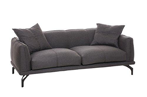 clp stilvolles 3er sofa lucien mit stoffbezug dicke polsterung und breite sitzfl che. Black Bedroom Furniture Sets. Home Design Ideas