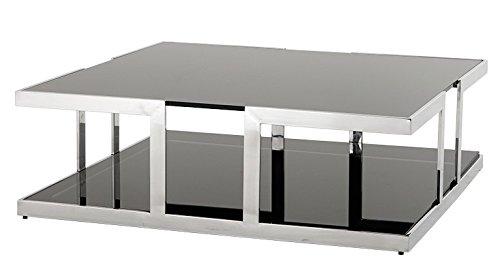 Couchtisch 80 X 60 Weiß Rauchglas ~ Möbel Ideen & Innenarchitektur