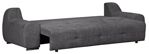 cavadore 5158 big sofa mit bettfunktion benderes 266 x 70 x 102 cm kati fango m bel24. Black Bedroom Furniture Sets. Home Design Ideas
