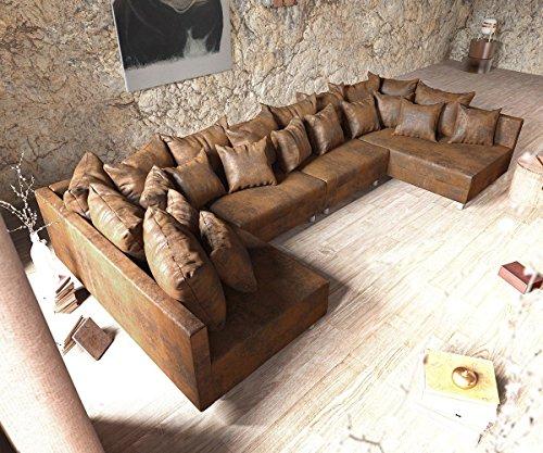 couch silas weiss 300x200 cm ottomane links designer wohnlandschaft m bel24 xxl m bel. Black Bedroom Furniture Sets. Home Design Ideas