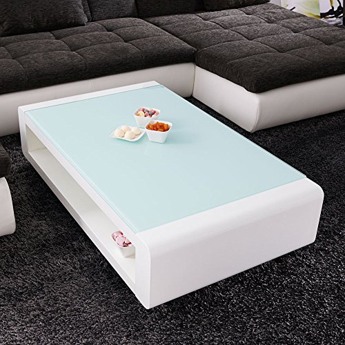 couchtisch soleil 120x70cm glastisch hochglanz lack tisch weiss loungetisch beistelltisch m bel24. Black Bedroom Furniture Sets. Home Design Ideas