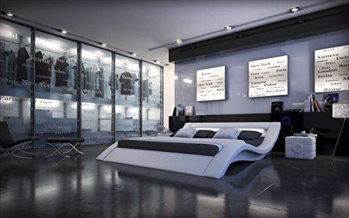 Designerbett MASSA mit LED Beleuchtung
