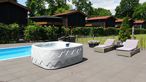 Dream 8 Outdoor Whirlpool Spa / Balboa Steuerung / 5 Personen / Dreammaker / Aussenwhirlpool / Indoor