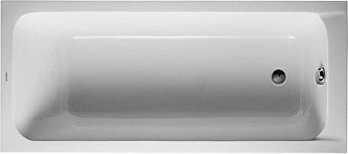 Duravit Badewanne D-Code 170x750mm Einbauversion, Rechteckbadewanne