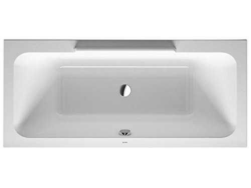 Duravit Badewanne DuraStyle 180x80cm Einbauversion, weiss, 700298000000000