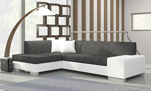 ecksofa fabian mit bettfunktion eckcouch sofa couch. Black Bedroom Furniture Sets. Home Design Ideas
