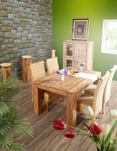 Esstisch Wohnzimmertisch Tisch Palisander Massivholz 140