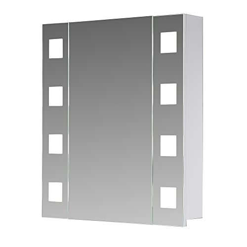 eurosan new york ny60 1 t riger spiegelschrank superflach integrierte led frontbeleuchtung. Black Bedroom Furniture Sets. Home Design Ideas