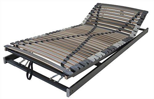 Extra Stabil: Betten-ABC Max1 XXL Lattenrost, verschiedene Ausführungen, belastbar bis zu 280 kg - Grösse XXXL K+F (bis 280 kg) - Härtegrad 90 x 200 cm