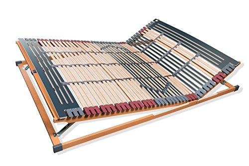 fmp matratzenmanufaktur 22 0004 7 zonen lattenrost rhodos kf kopf und fu teil verstellbar 44. Black Bedroom Furniture Sets. Home Design Ideas