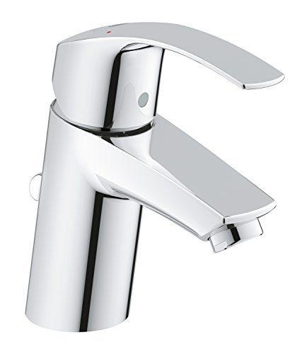 GROHE Eurosmart Waschtischarmatur mit Zugstange, Standard-Auslauf 33265002