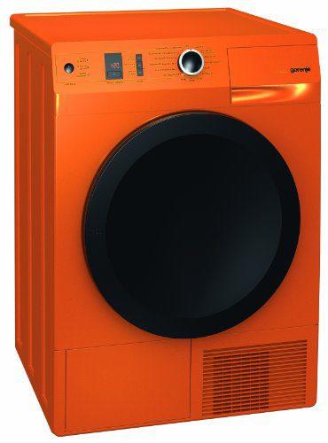 Gorenje D 8565 NO Wärmepumpentrockner / A++ / 8.0 kg / Wärmepumpe / Luftstromsystem TwinAir / orange