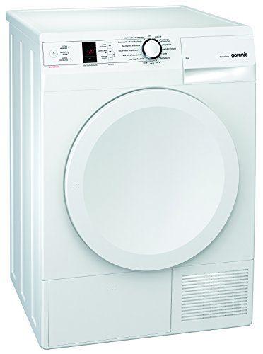 Gorenje D 8566 A+++ Kondenstrockner FL /A+++ / 8 kg / weiß / Wärmepumpentechnologie / Startzeitvorwahl 24 h / Knitterschutz
