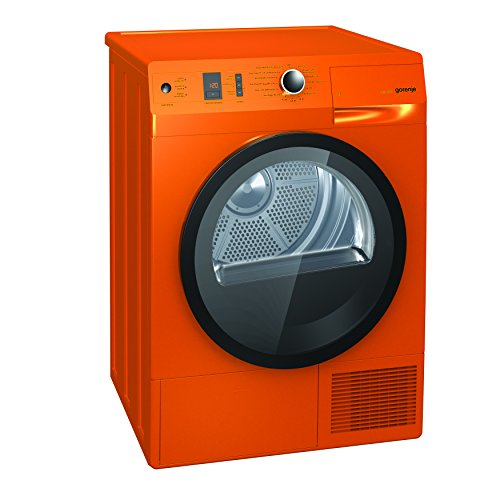Gorenje D 85F66 NO Kondenstrockner FL / A+++ / 8 kg / Orange / Wärmepumpentechnologie / IonTech-Ionensystem / Knitterschutz / Colour Collection