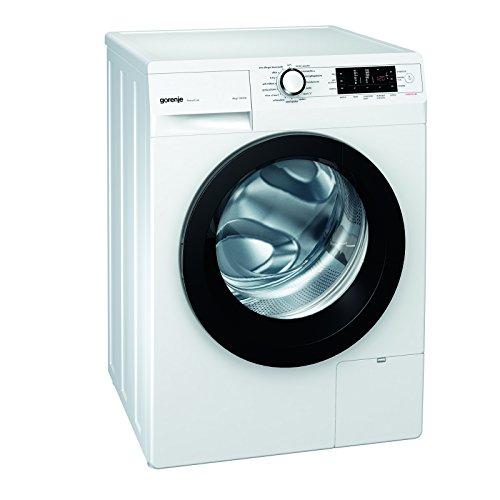 Gorenje W 8543 T Waschmaschine FL / A+++ / A+++ / 8 kg / 1400 UpM / schwarz / Totaler AquaStop / SensoCare-Waschsysteme / VitaProgramme / Colour Collection