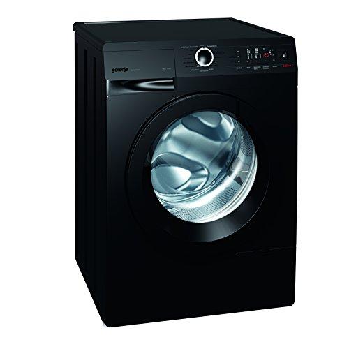 Gorenje W 8543 TB Waschmaschine FL/ A+++ / 8 kg / 1400 UpM / schwarz / Totaler AquaStop / SensoCare-Waschsysteme / VitaProgramme / Colour Collection