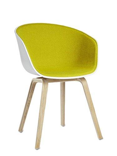 Hay about a chair aac 22 spiegelpolsterung for Esszimmerstuhl schale