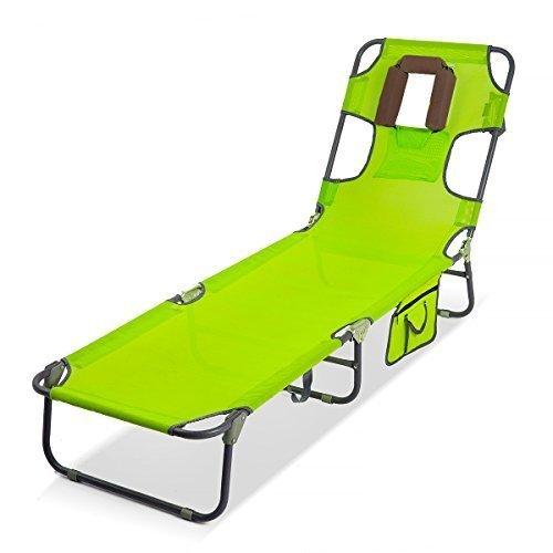 xxl gartenliege extra hoch gelb gr n aluminium sonnenliege. Black Bedroom Furniture Sets. Home Design Ideas