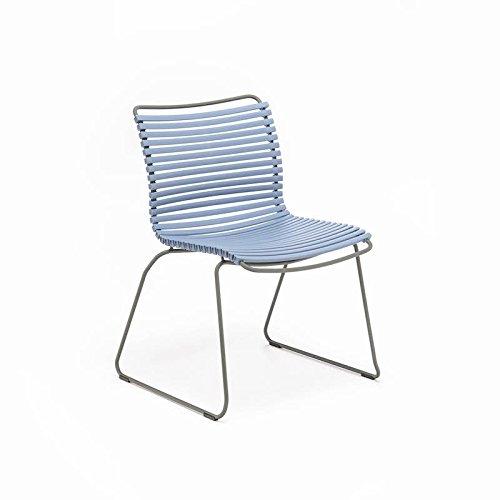 Houe - Click Dining Stuhl - taubenblau - Henrik Pedersen - Design - Esszimmerstuhl - Gartenstuhl - Speisezimmerstuhl - Terrassenstuhl