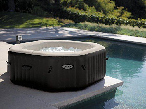 Intex 28454 Whirlpool Pure Spa Bubble Jet & Salzwassersystem
